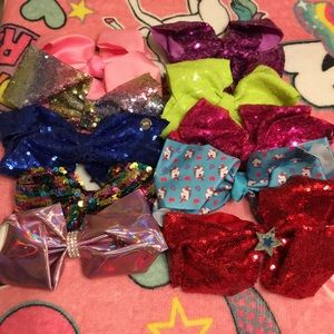 Other - Jojo Siwa bows - lot of 12